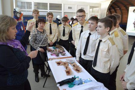 Встреча с учащимися 8-а класса школы №2 города Строителя