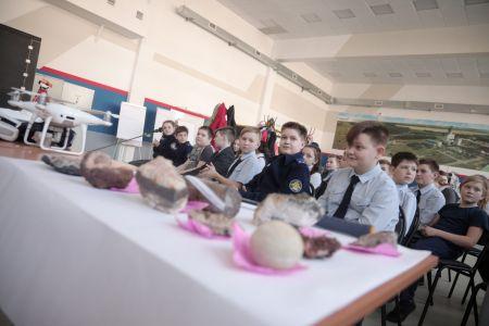 Встреча с учащимися пятых классов школы №3 города Строителя